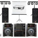 Alquiler de equipo de sonido para eventos
