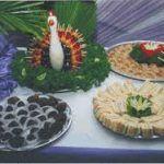 Bocaditos dulces y salados para eventos